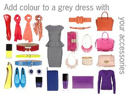 How to match colors in your clothes with color wheel guide.